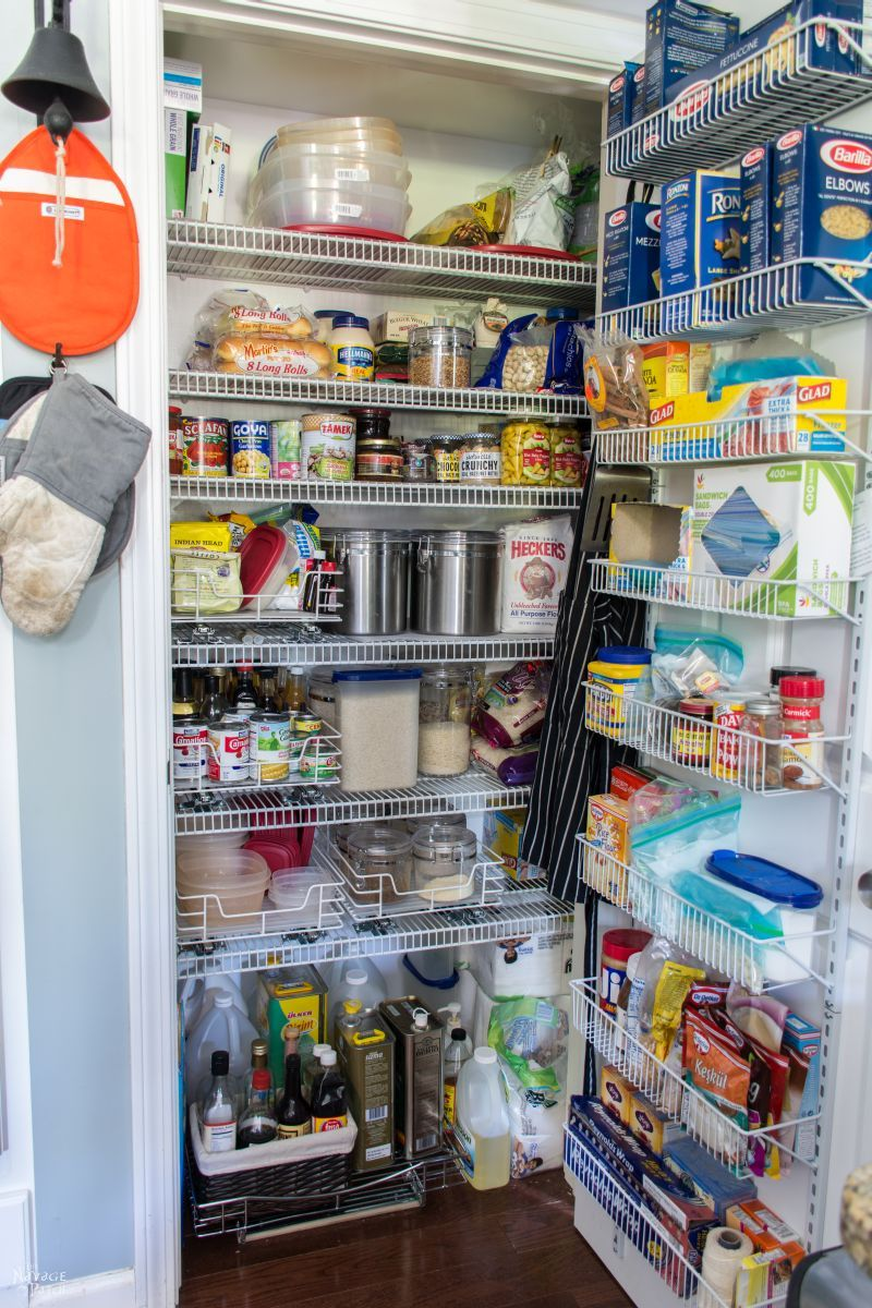 21 Small Kitchen Pantry Organization Ideas To Really Save