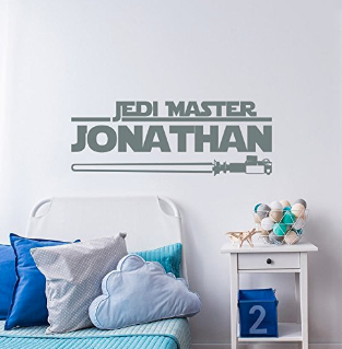 This Personalized Jedi Master Your Baby S Name Here Decal Would Look Phenomenal Hanging Over A Crib Or Changing Table In Star Wars Nursery