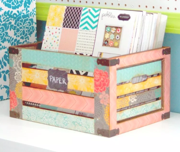 You'll need a way to deliver all of your little/big gifts so why not make a custom crate?