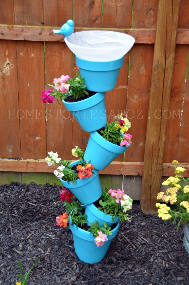 This is a garden project that is simply for the birds!