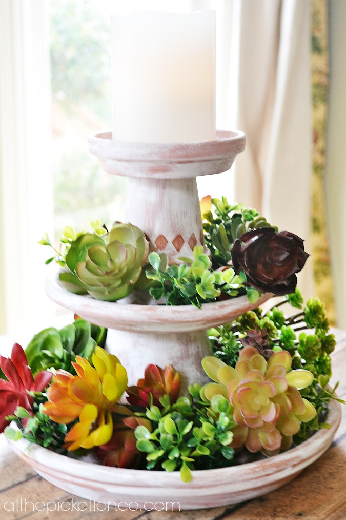 The possibilities are endless when it comes to customizing this centerpiece to fit the occasion.