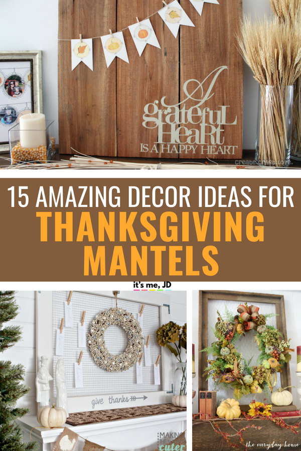 15 Fall Mantel Decorating Ideas Perfect For Thanksgiving