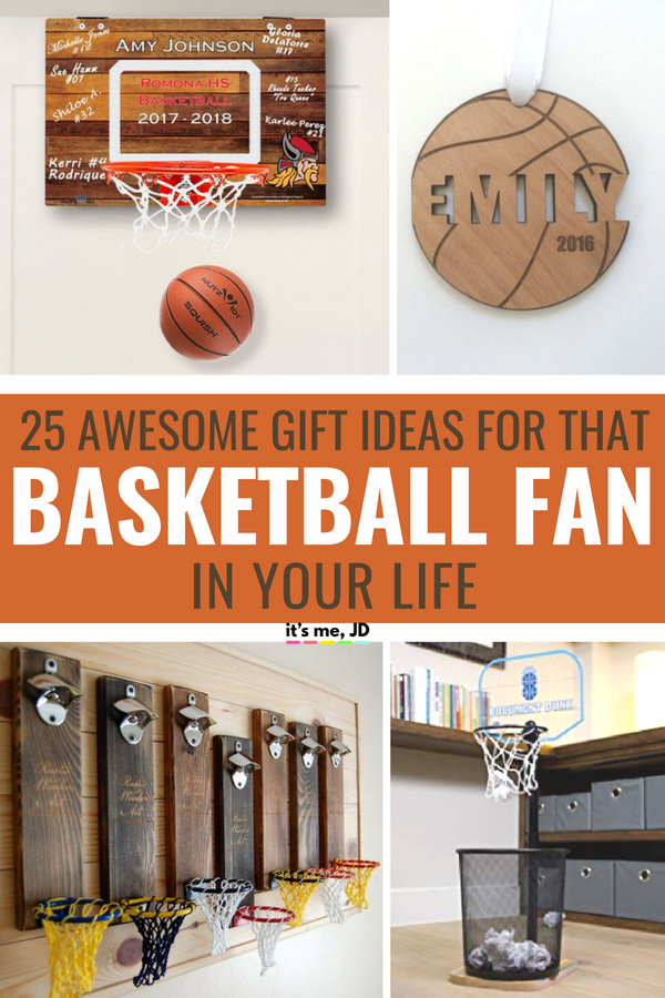 FB - 21 Awesome Gifts for Basketball Lovers _ Best Gift Ideas For Basketball Players #basketball #basketballgift #basketballgifts #basketballfans
