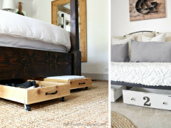 FB - 15 Clever Under the Bed Storage Ideas You'll Love