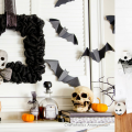 15 Halloween Mantel Decorating Ideas That Are Spooky But Still Stylish!