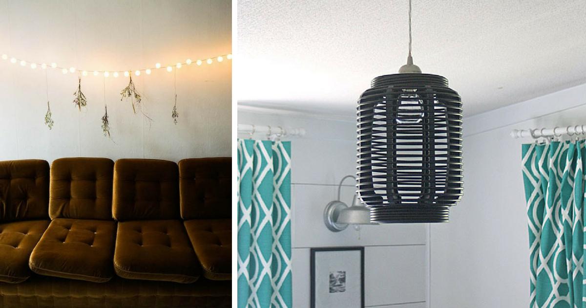 20 Easy Diy Light Fixtures To Brighten Your Day