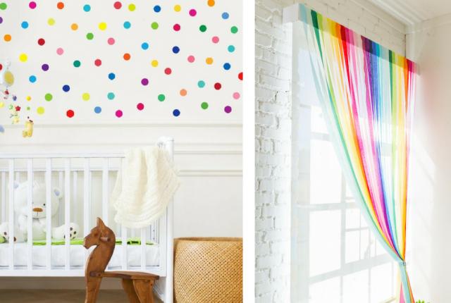 21 Colorful Decor Ideas For A Rainbow Themed Nursery