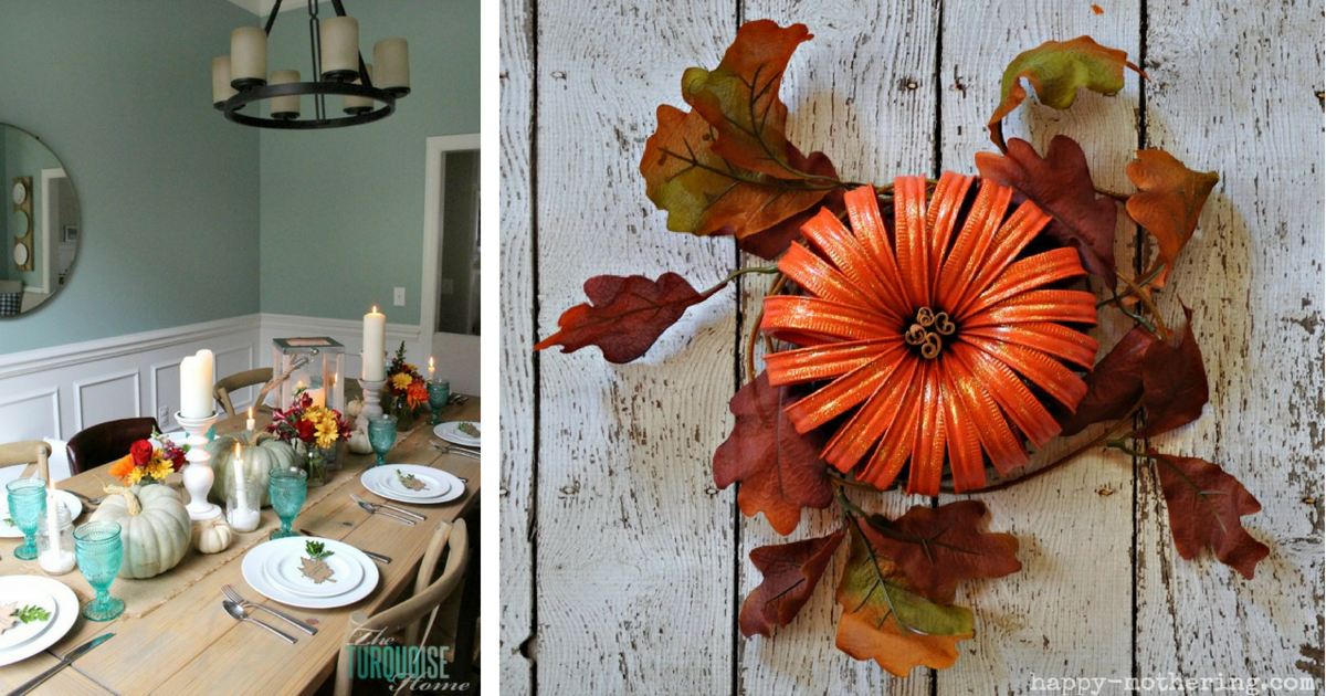 fb 21 easy thanksgiving centerpiece ideas for your fall decor rh itsmejd com Easy Thanksgiving Decorating Ideas Holiday Centerpieces Ideas