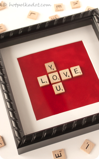 A quirky little love token that showcases your weakness for words, the most important words.