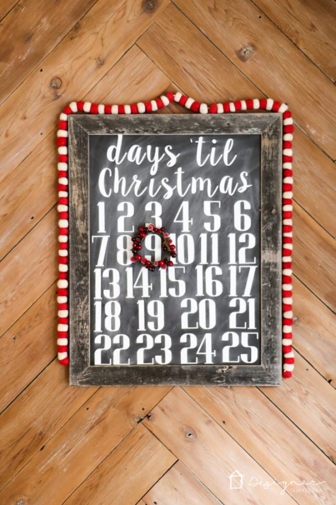 Chalkboard signs are so charming, but they can be time-consuming to make. With my method, they are EASY to make and are reusable!