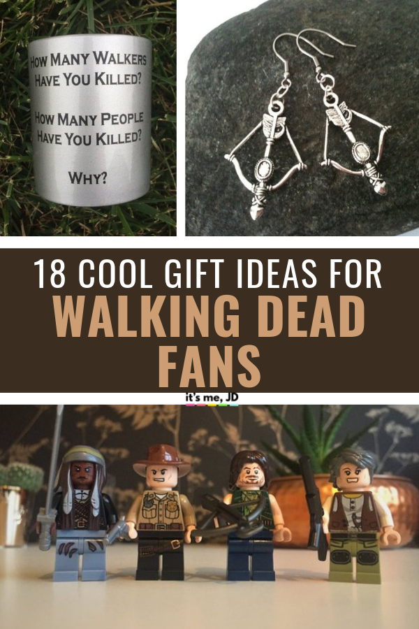 18 Cool Gift Ideas for Walking Dead Fans _ Gifts for Walking Dead Superfans #walkingdead #thewalkingdead #walkingdeadfan #zombiegift #walkingdeadgift #walkingdeadgiftideas