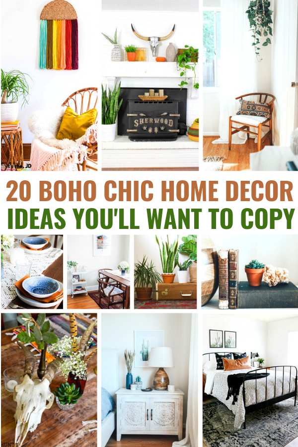 20 Charming Boho Inspired Home Decor Ideas You'll Want To Copy #bohodecor #bohochic #bohodesign #bohohomedecor #bohointeriordesign #bohofurniture #diyboho