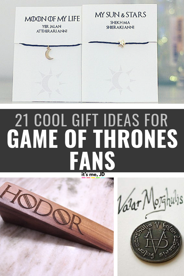 21 Cool Gift Ideas for Game of Thrones fans _ Gifts for G.O.T. Die Hards #gameofthrones #gameofthronesgifts #gameofthronesfans #gameofthronefan #gotfans #gameofthronesgift