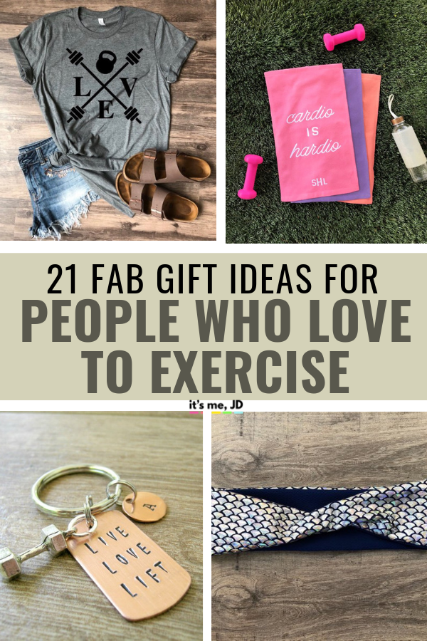 21 Fabulous Gift Ideas for People That Love To Exercise, Best Workout Gifts #workoutgift #fitnessgift #exercisegift #workout #fitness #exercise