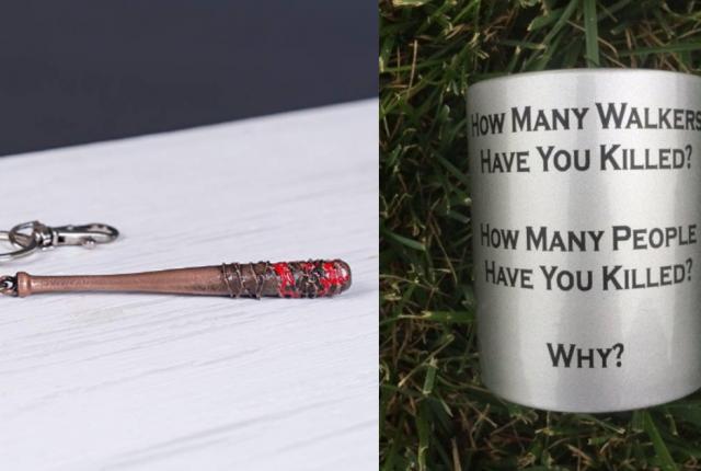 18 Cool Gift Ideas for Walking Dead Fans _ Gifts for Walking Dead Superfans