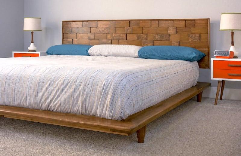 amazing diy modern bedroom furniture | 20 Amazing Mid Century Modern Design Decor Ideas You Will Love