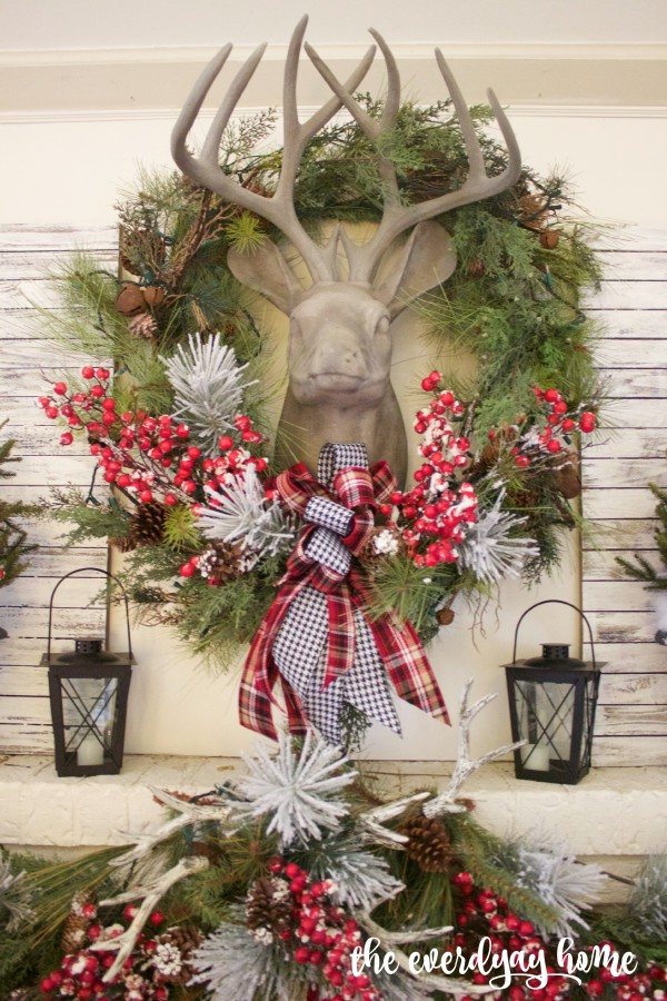 The mantel always sets the stage for the remainder of the home.  It's the perfect area of your home to decorate first!