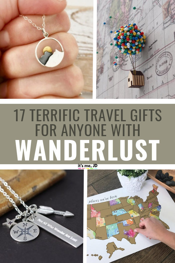 17 Terrific Travel Gift Ideas For Anyone With Wanderlust #travelgift #travelgifts #travellover #wanderlust #giftsfortravellover