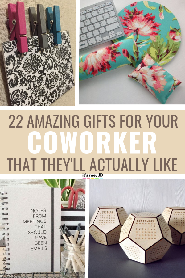 22 Best Gifts For Coworkers _ Gift Ideas For Your Colleagues #work #office #coworkergift #coworkergiftideas