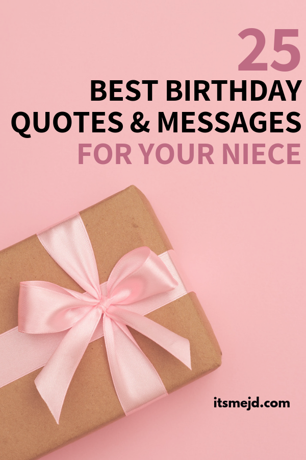 25 best happy birthday wishes messages quotes for your cool niece birthdayquotes