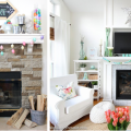 15 Pretty Easter Mantels That Are Perfect For Spring