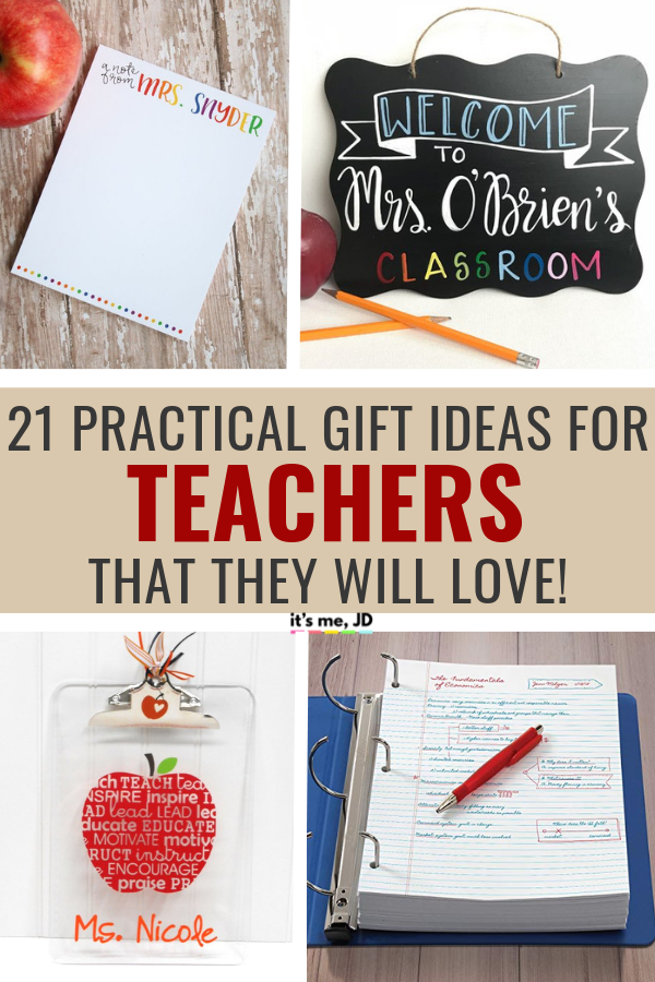 Practical Gift Ideas For Teachers That They Will Actually Want #teacherappreciation #teachergift #teachergifts #teachergiftideas