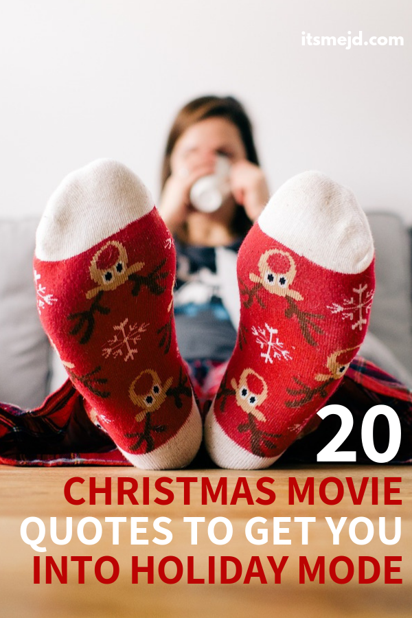 20 Christmas Movie Quotes to Warm Your Hearts This Holiday Season #christmas #christmasmovie #christmasquotes