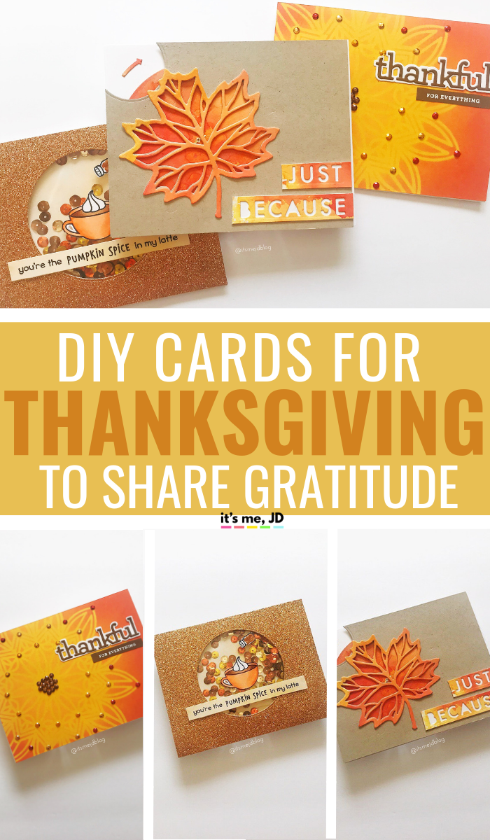 Easy DIY Thanksgiving Cards To Share With Family And Friends #thanksgiving #thanksgivingcraft #thanksgivingcard