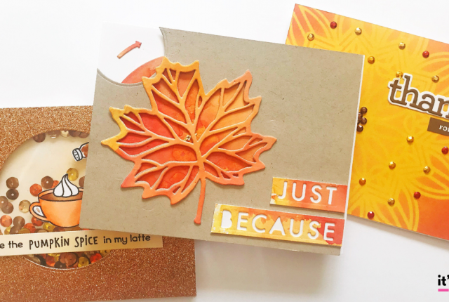 Easy DIY Thanksgiving Cards To Share With Family And Friends