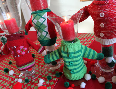 ugly christmas sweater party ideas from ohmy creativecom this diy idea would make the perfect centerpiece for your get together