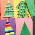 8 DIY Christmas Tree Cards That Kids Can Make