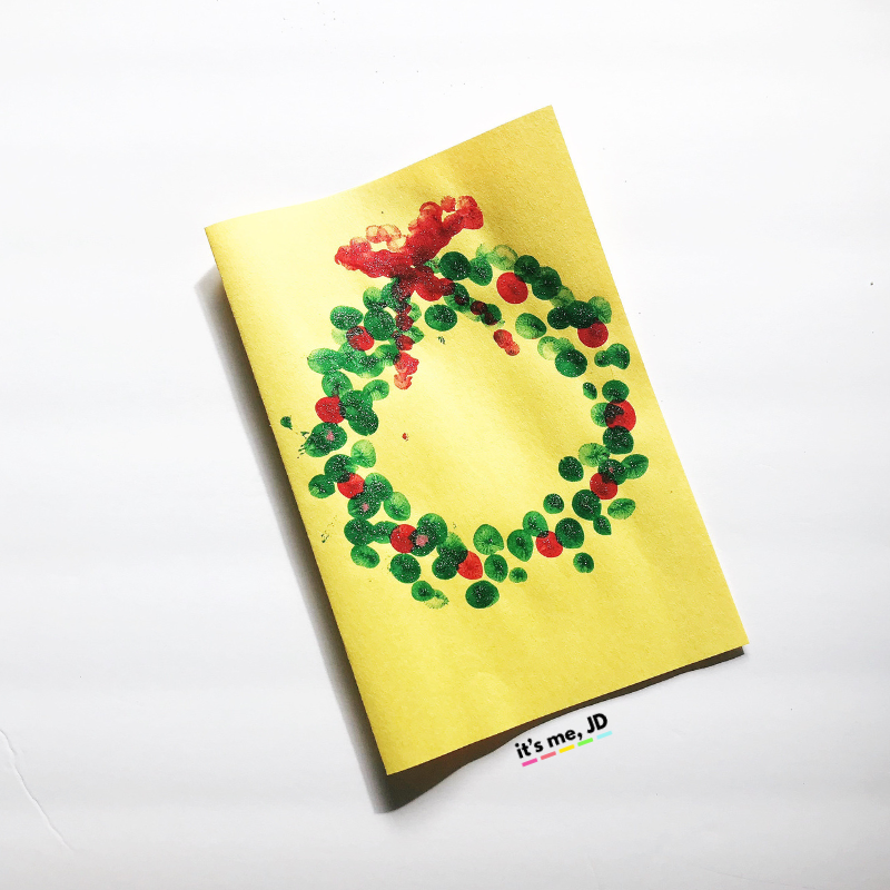 6 Fun Fingerprint Christmas Card Ideas That Kids Can Make