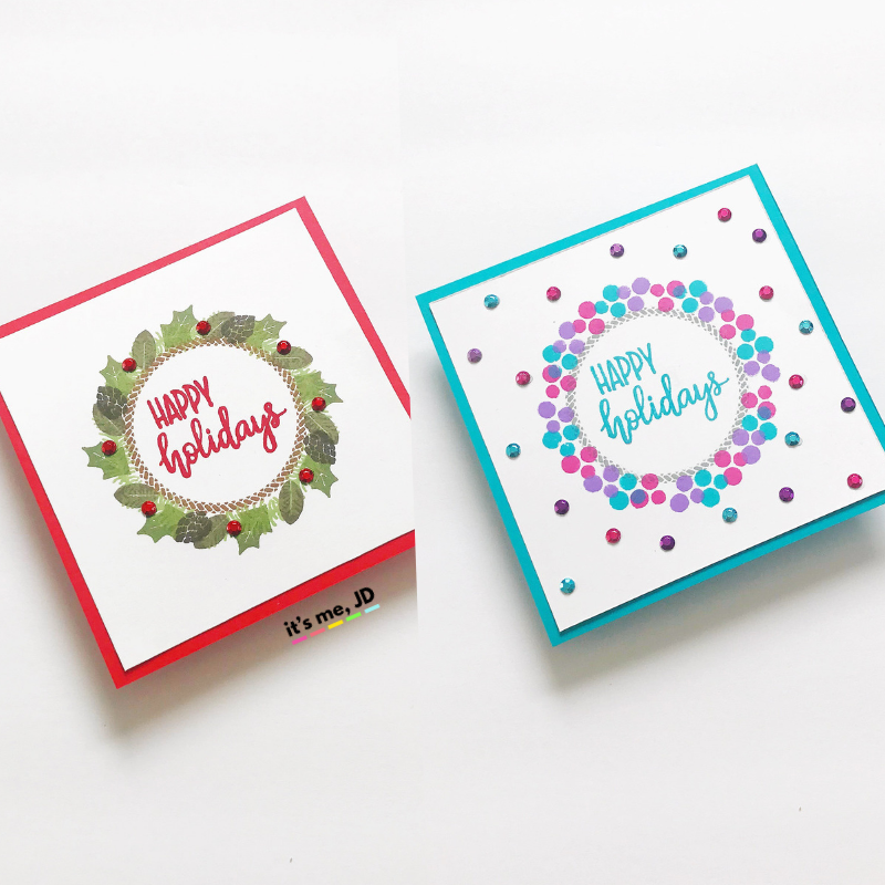 """<a href=""""https://itsmejd.com/wp-content/uploads/2018/12/Traditional-Nontraditional-DIY-Christmas-Cards-Using-The-Same-Supplies-1.png"""" srcset="""