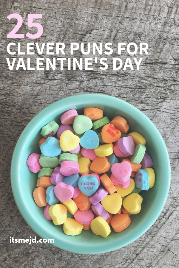 25 Clever Valentine's Day Puns For Your Next Instagram Caption #valentinesday #valentinesdayquotes #valentinesdaycaptions #valentinesdaycards #valentine
