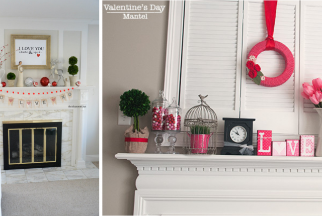 15 Charming Valentine's Day Mantel Decor Ideas To Fall In Love With