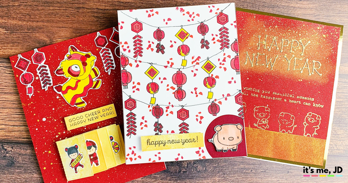 Diy Lunar New Year Cards To Celebrate Chinese And Vietnamese New Year