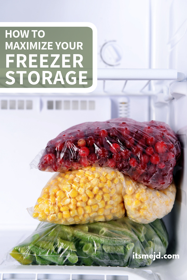 How to Maximize Your Freezer Storage Space , Make the most of your kitchen organization. #organization #kitchenorganization #kitchen