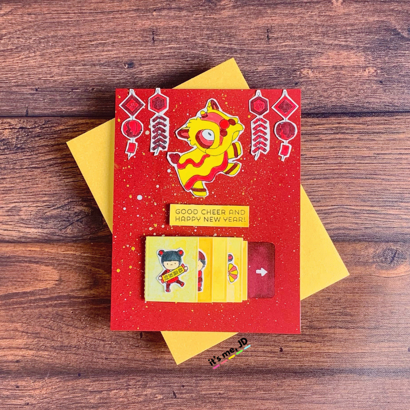 Lunar New Year Cards To Celebrate Chinese and Vietnamese New Year flip slider
