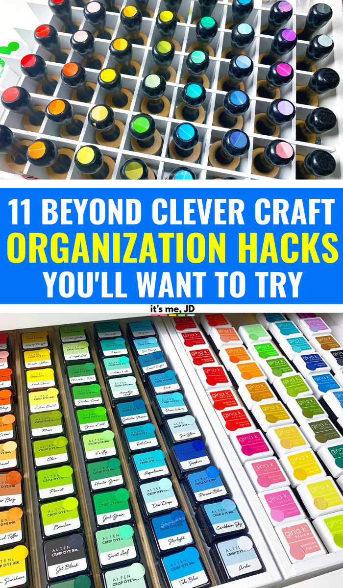 11 Beyond Clever Craft Organization Hacks You Ll Want To Try