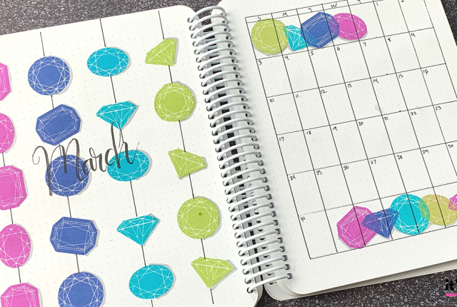 March 2019 Bullet Journal Layout _ Plan With Me _ Planner Spread