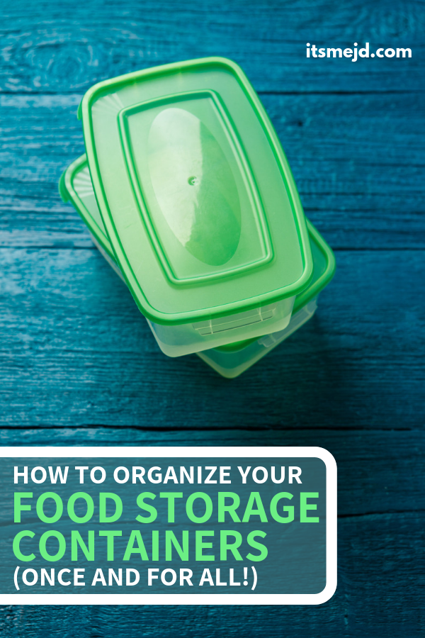 How To Organize Tupperware And Food Storage Containers (Once And For All!), Kitchen cabinet drawer organization tips, #organize #organizing #organization #organized #kitchenorganization #drawerorganization #pantryorganization