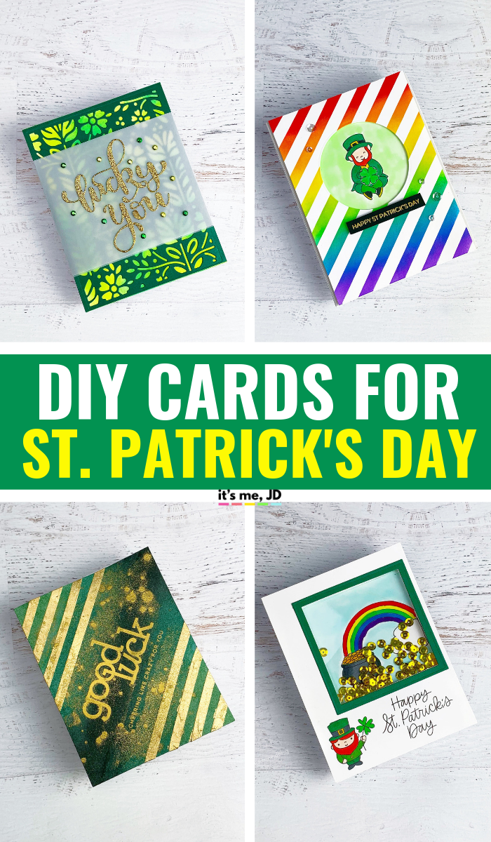 DIY St Patrick's Day Greeting Cards To Make You Green With Envy #stpatricksday #stpaddyday #saintpatricksday #stpatricksdaycrafts #stpatrickdaycraft