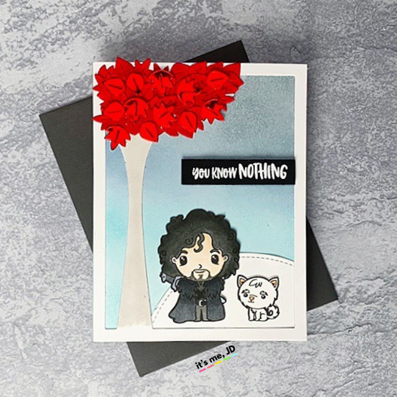 Game of thrones craft card