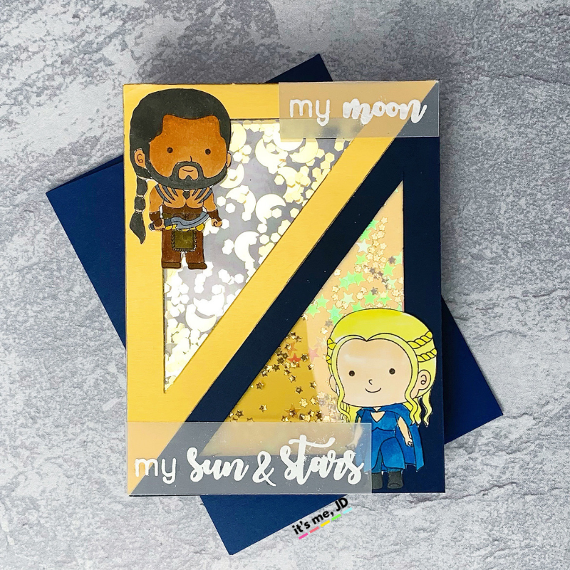 Game of thrones craft card 5