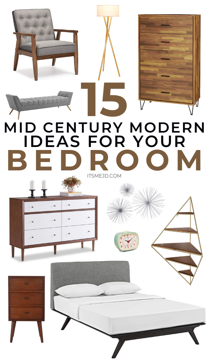Mid Century Modern Bedroom Decor Ideas You'll Want To Copy #midcenturymodern #homedecor #bedroomdecor #midcenturymod #midcenturymoderndesign