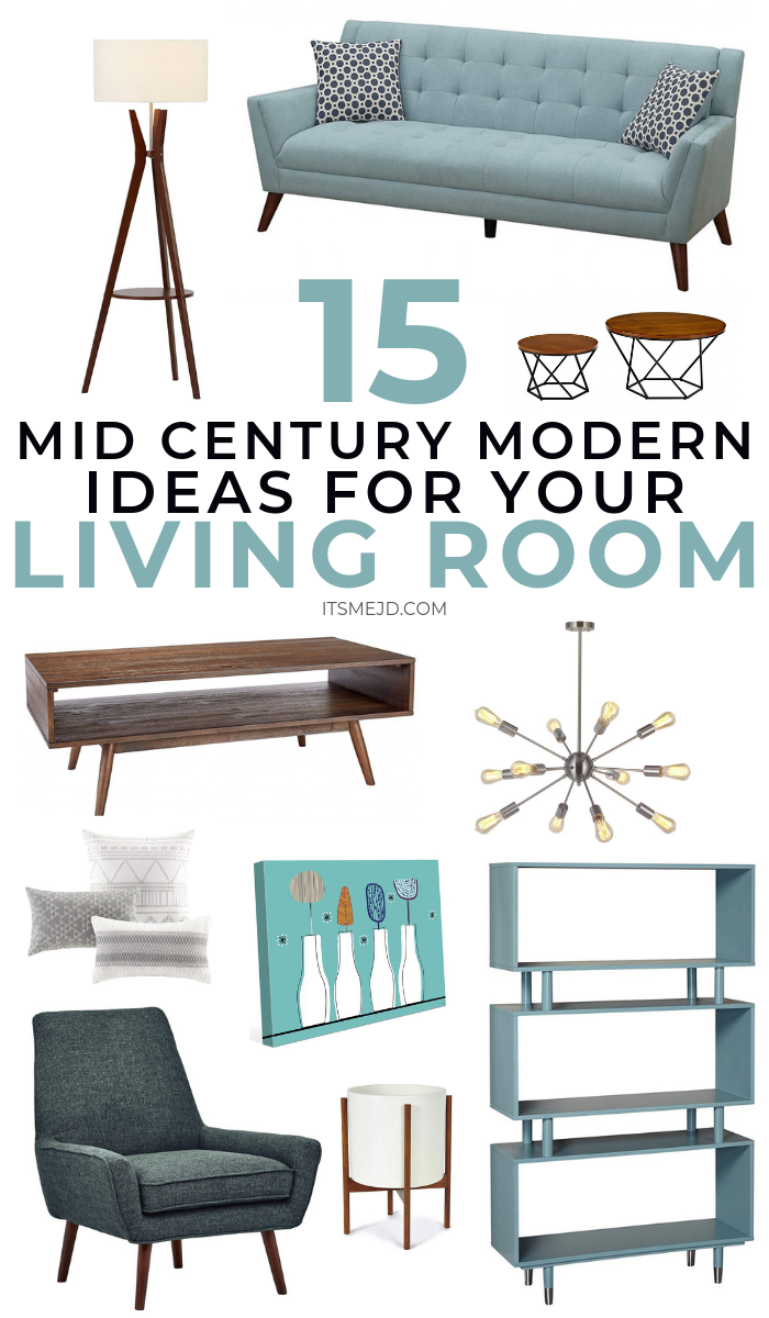 Mid Century Modern Living Room Decor Ideas You'll Want To Copy #midcenturymodern #midcenturymodernideas #homedecor #homedecorideas #livingroom #livingroomideas