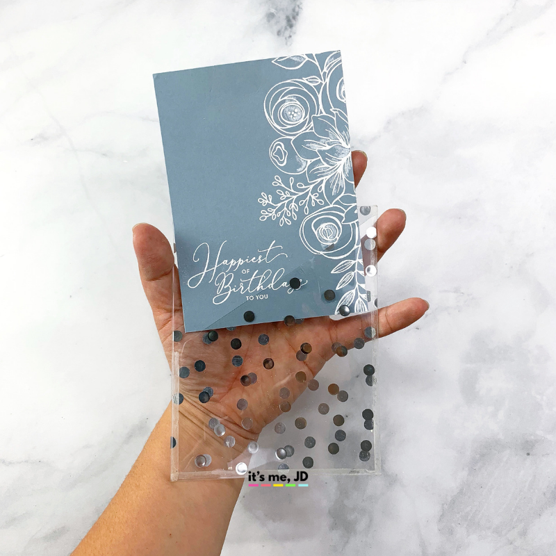 DIY See Through Ideas For Clear Cards And Invitations