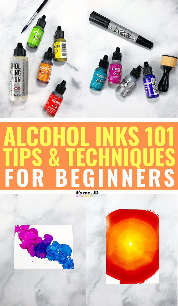 How To Use Alcohol Ink_ Tips And Techniques For Beginners #alcoholink #alcoholinkart #alcoholinks #alcoholinkartist