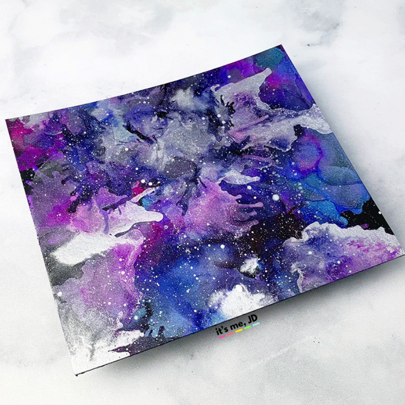 MORE Easy Ways To Create A DIY Galaxy Background, Alcohol Ink