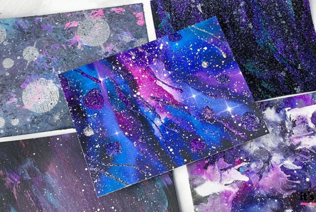 MORE Easy Ways To Create A DIY Galaxy Background